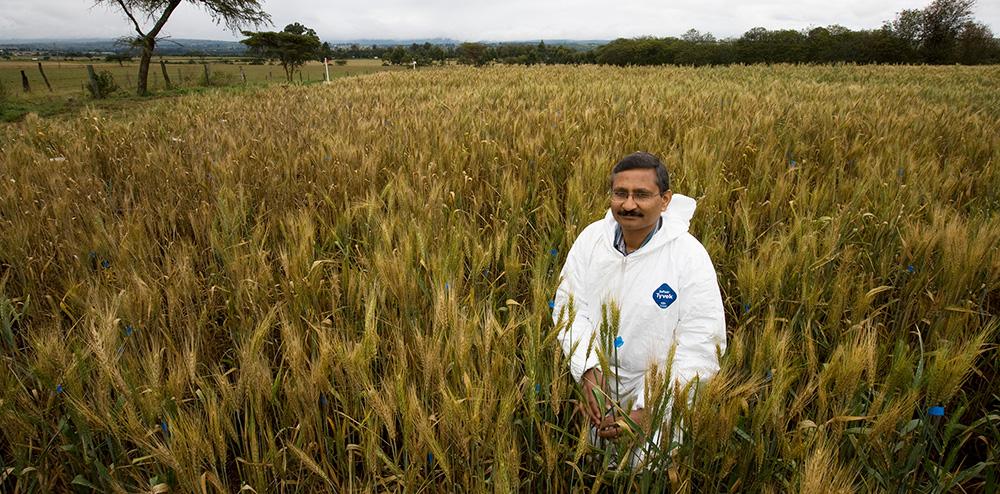 Ravi Singh in field